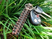 Survival Straps Paracord Key Fob
