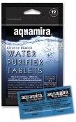 Aquamira Water Purification Tablets - Package of 12