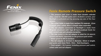 Fenix remote pressure switch