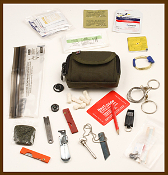 ESEE Knives Izula Gear Wallet E&E Survival Pocket Kit Emergency