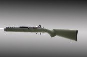 Hogue Overmolded Mini 14/30 Rifle stock - OD Green