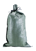 POLYPROPYLENE OLIVE DRAB SANDBAG - Bundle of 25