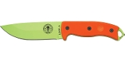 ESEE Model 5 - Venom Green Blade - Plain