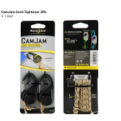 Nite Ize CamJam Cord Tightener w/ rope - 2 Pack