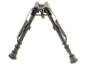 "Harris Bipod HBLM-S 9"" to 13"" w/ leg notches (Swivels)"