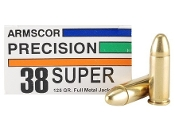 Armscor USA 38 Super 125gr FMJ - 50 rd box