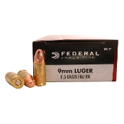 Federal Champion 9mm Luger 115gr FMJ - 50 rd Box