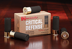 Hornady 12GA OO Buck Critical Defense - 10 rd Box