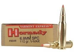 Hornady 6.8mm REM SPC 120 Grain SST -Box of 20